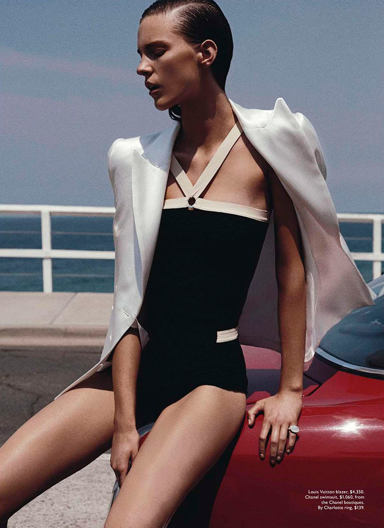 Photo Nicole Pollard by Benny Horne for Vogue Australia January 2014