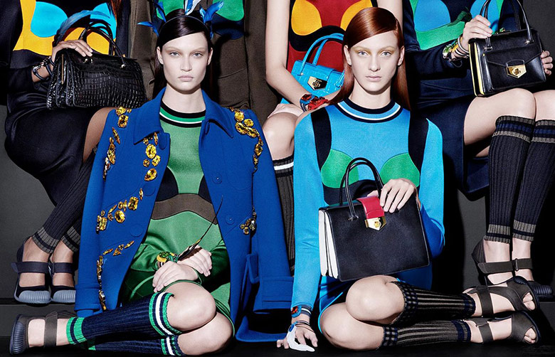 Photo Prada S/S 2014 Campaign by Steven Meisel