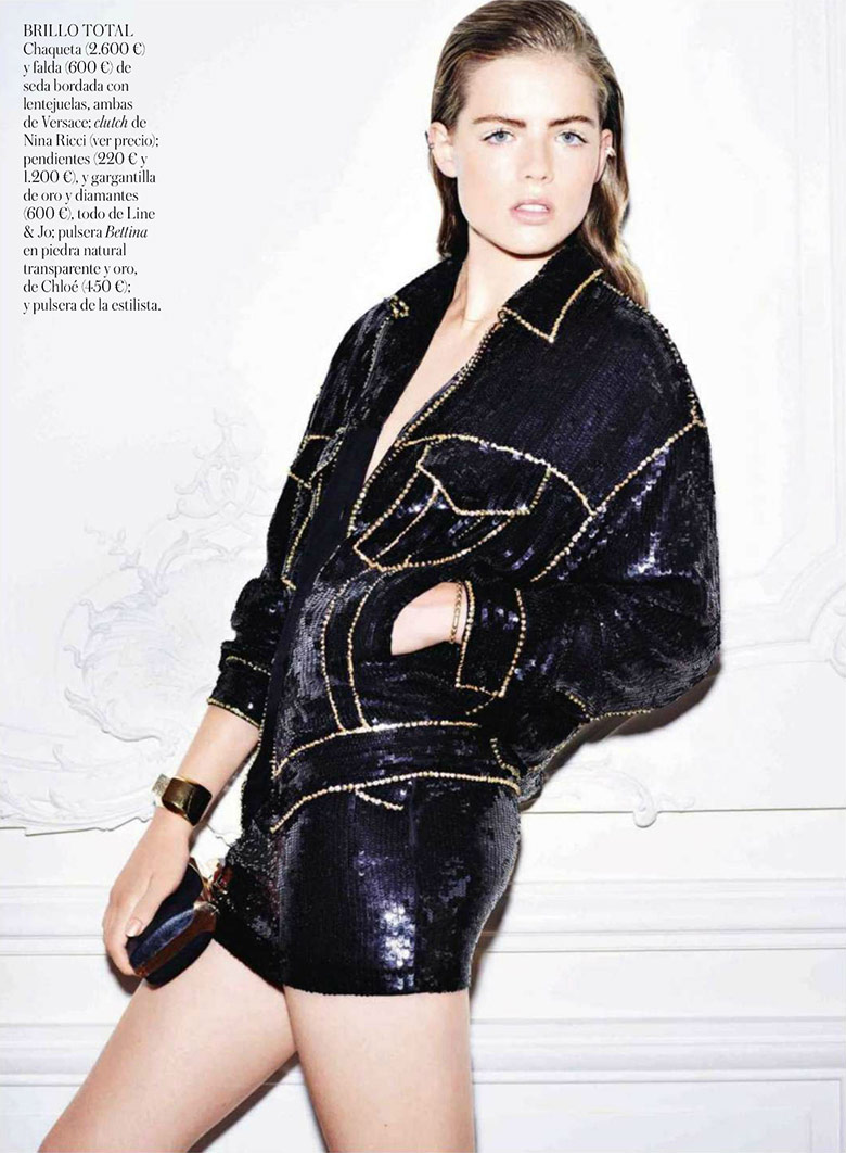 Photo Rosie Tapner for Vogue Spain January 2014