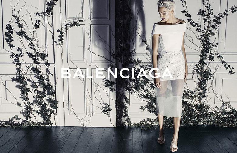 Photo Daria Werbowy by Steven Klein for Balenciaga Spring/Summer 2014