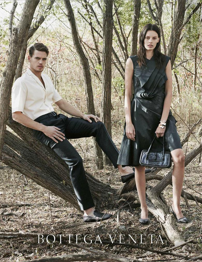 Photo Bottega Veneta Spring/Summer 2014 Campaign
