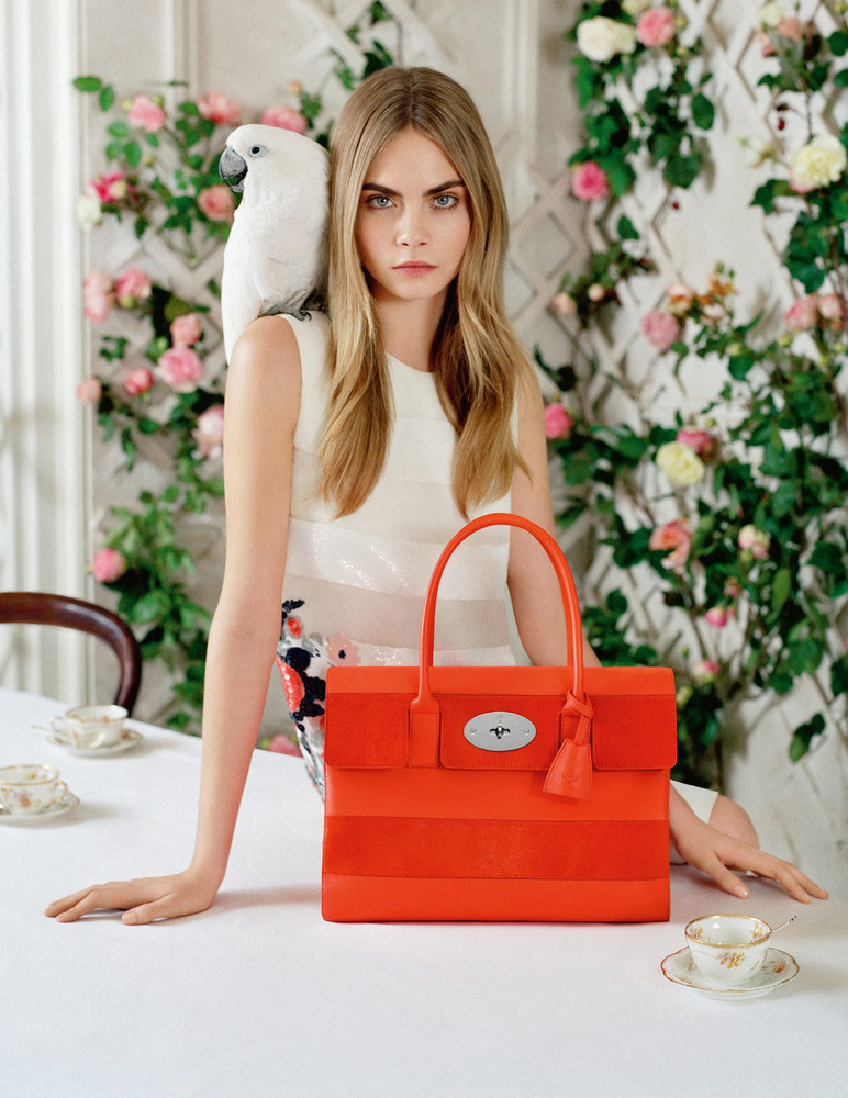 Photo Cara Delevingne by Tim Walker for Mulberry Spring/Summer 2014 Campaign