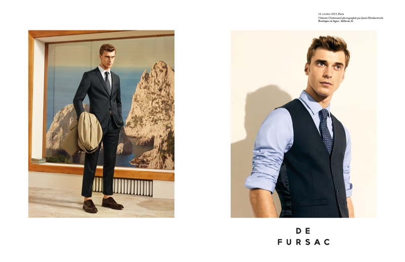 Photo Clement Chabernaud for De Fursac Spring/Summer 2014 Campaign