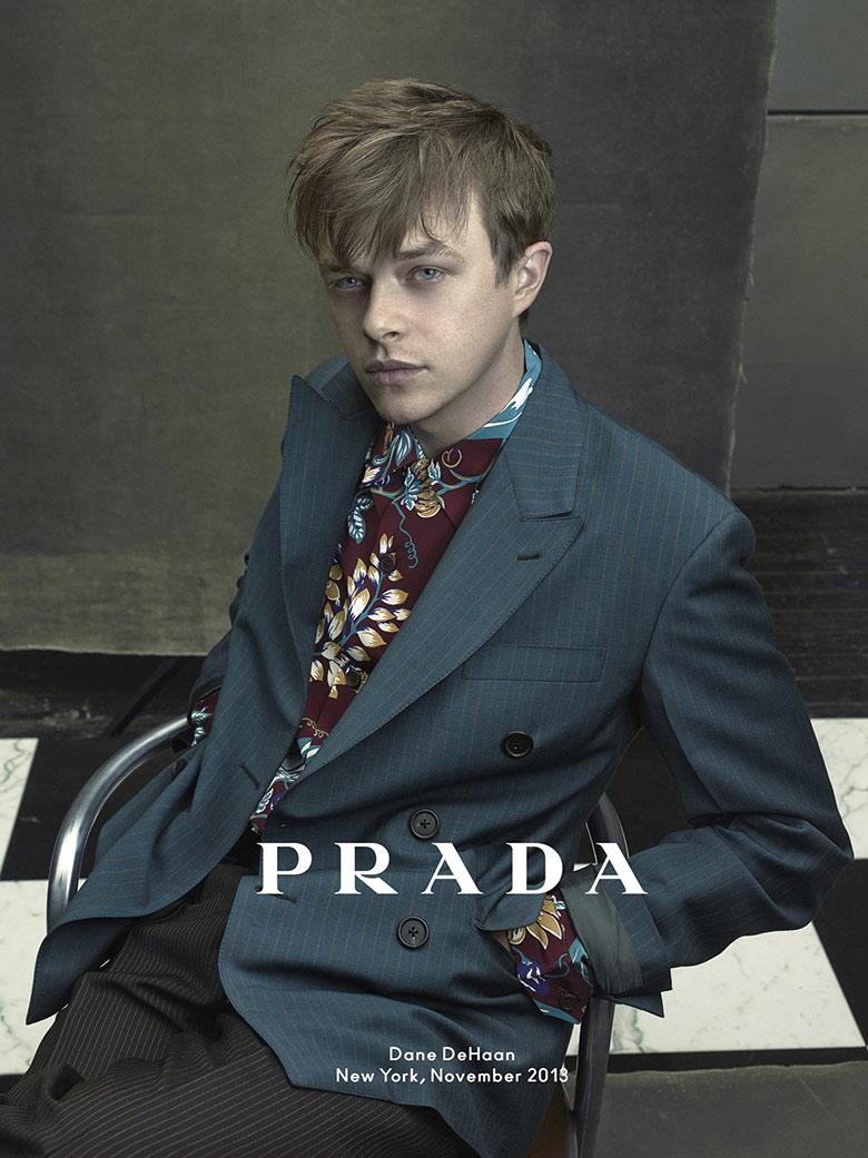 Photo Dane DeHaan for Prada Man Spring/Summer 2014 Campaign by Annie Leibovitz
