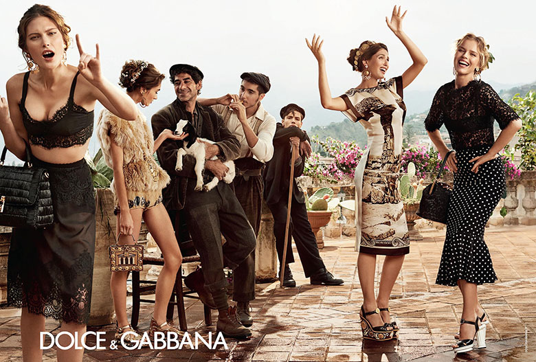 Photo Dolce & Gabbana Spring/Summer 2014 Campaign
