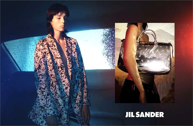 Photo Edie Campbell & Ben Waters by David Sims for Jil Sander Spring/Summer 2014 Campaign
