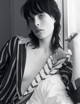 edie-campbell-sandro-2014-campaign-1
