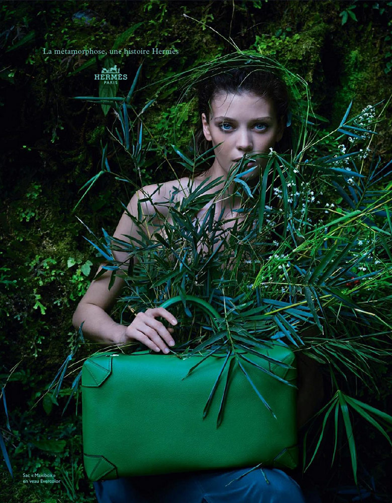 Photo Diana Moldovan & Yumi Lambert for Hermes Spring/Summer 2014