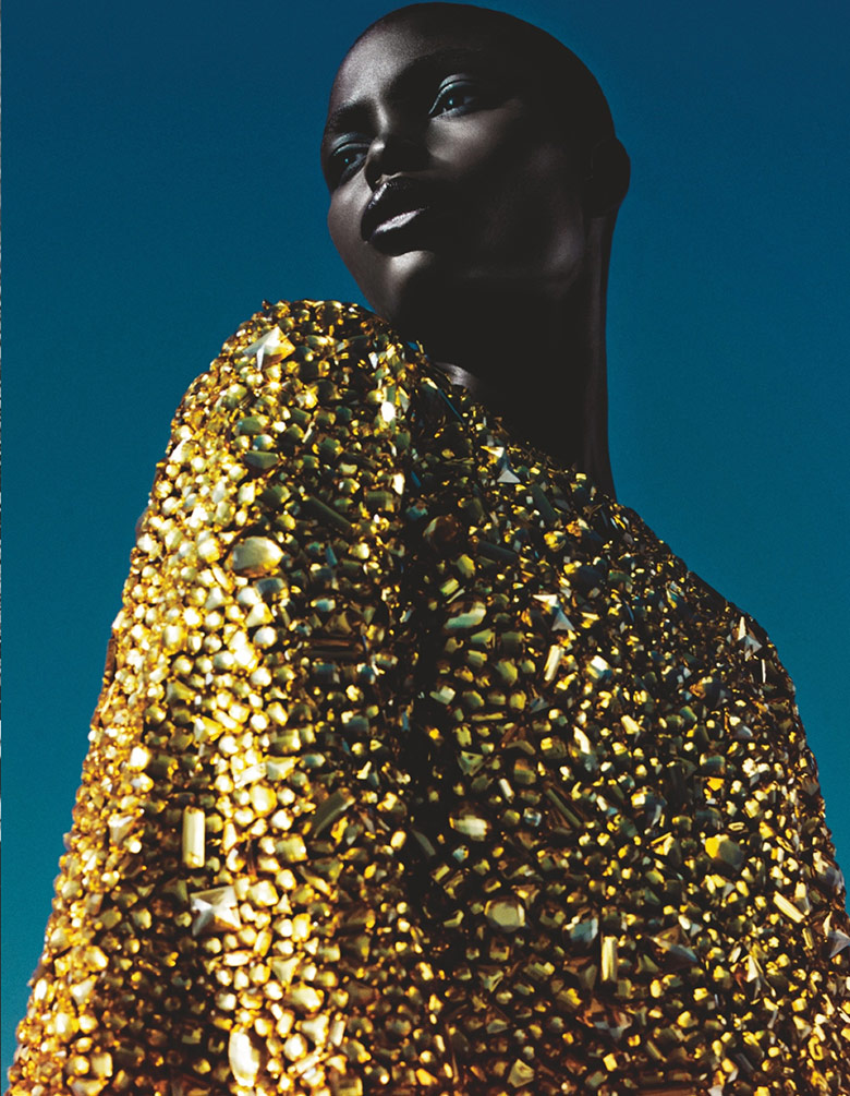 Photo Jeneil Williams by Txema Yeste for Numero February 2014