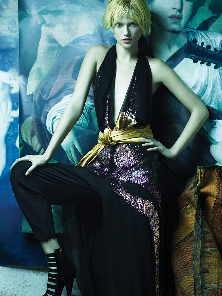 Kasia Struss by Rafael Stahelin for Vogue Korea February 2014