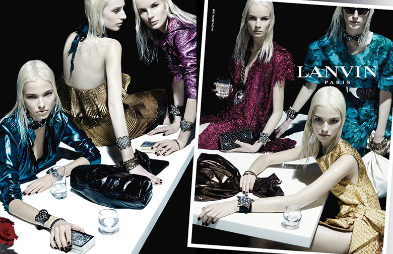 Photo Lanvin Spring/Summer 2014 Campaign by Steven Meisel