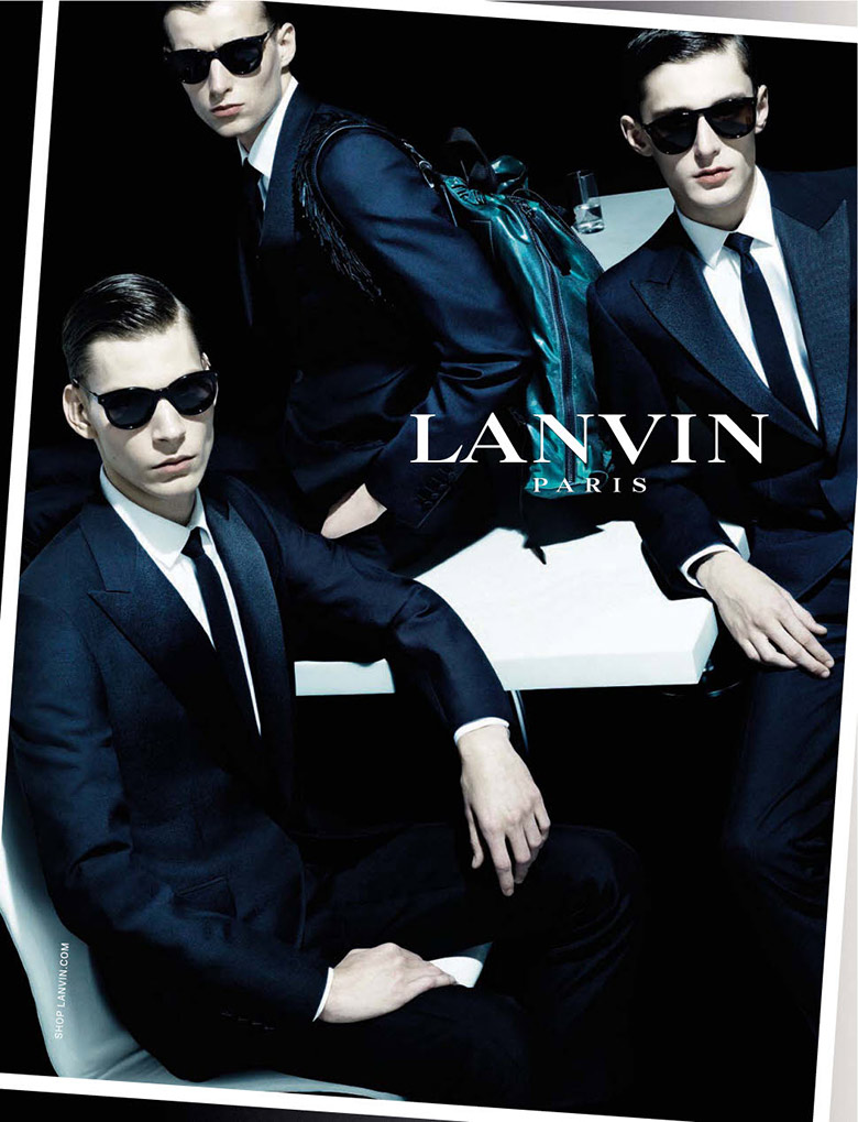Photo Lanvin Menswear Spring/Summer 2014 Campaign by Steven Meisel