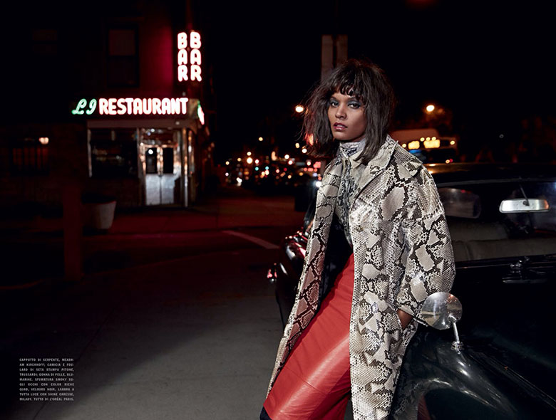 Photo Liya Kebede by Yelena Yemchuk for Vogue Italia January 2014