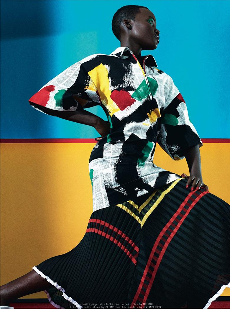 Photo Lupita Nyongo by Sharif Hamza for Dazed & Confused February 2014