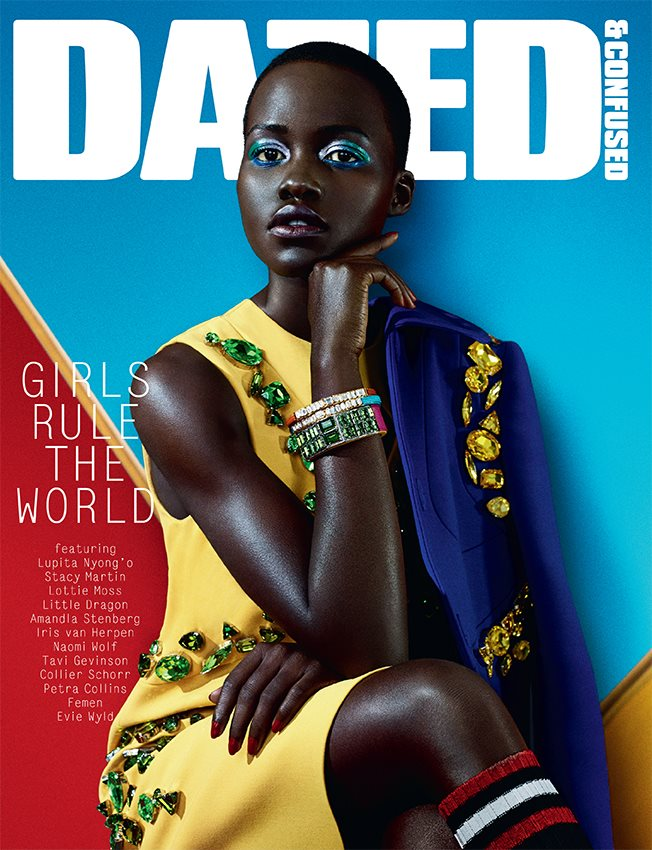 Photo Lupita Nyongo by Sharif Hamza for Dazed & Confused February 2014