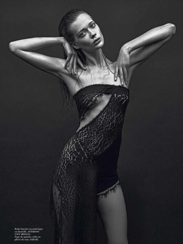 Photo Irresistibles by Mario Sorrenti for Vogue Paris February 2014