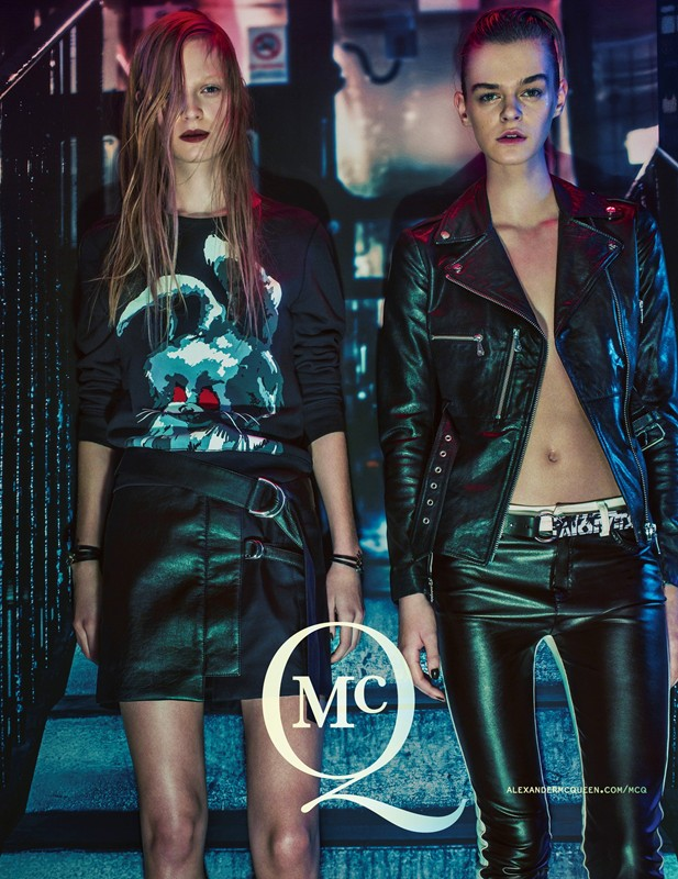 Photo McQ Spring/Summer 2014 Campaign by Steven Klein