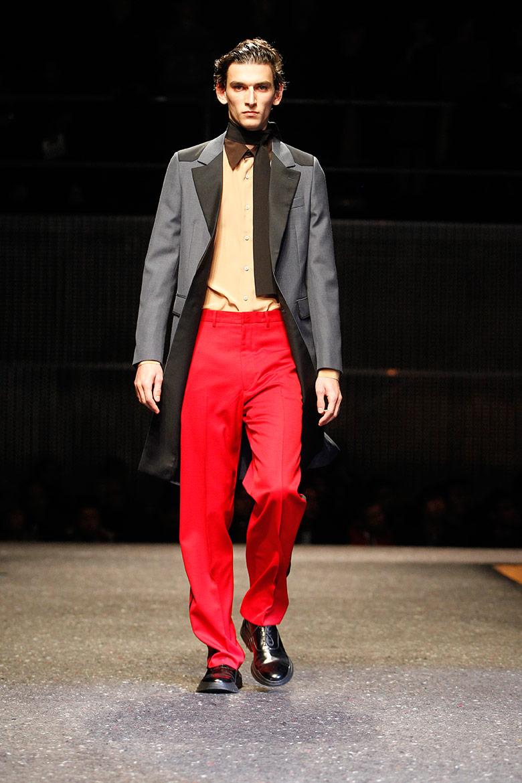 Photo Prada Mens Fall/Winter 2014 Fashion Show