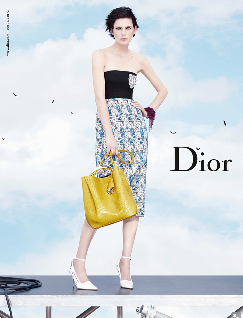 Photo Stella Tennant by Willy Vanderperre for Christian Dior S/S 2014
