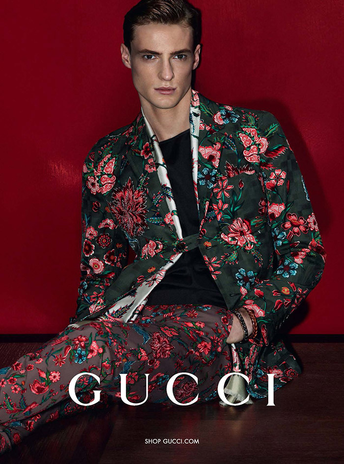 Photo Tommaso De Benedictis for Gucci S/S 2014 Campaign by Mert & Marcus
