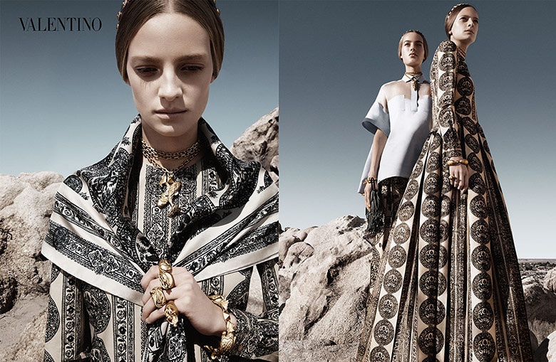 Valentino Spring/Summer 2014 Campaign