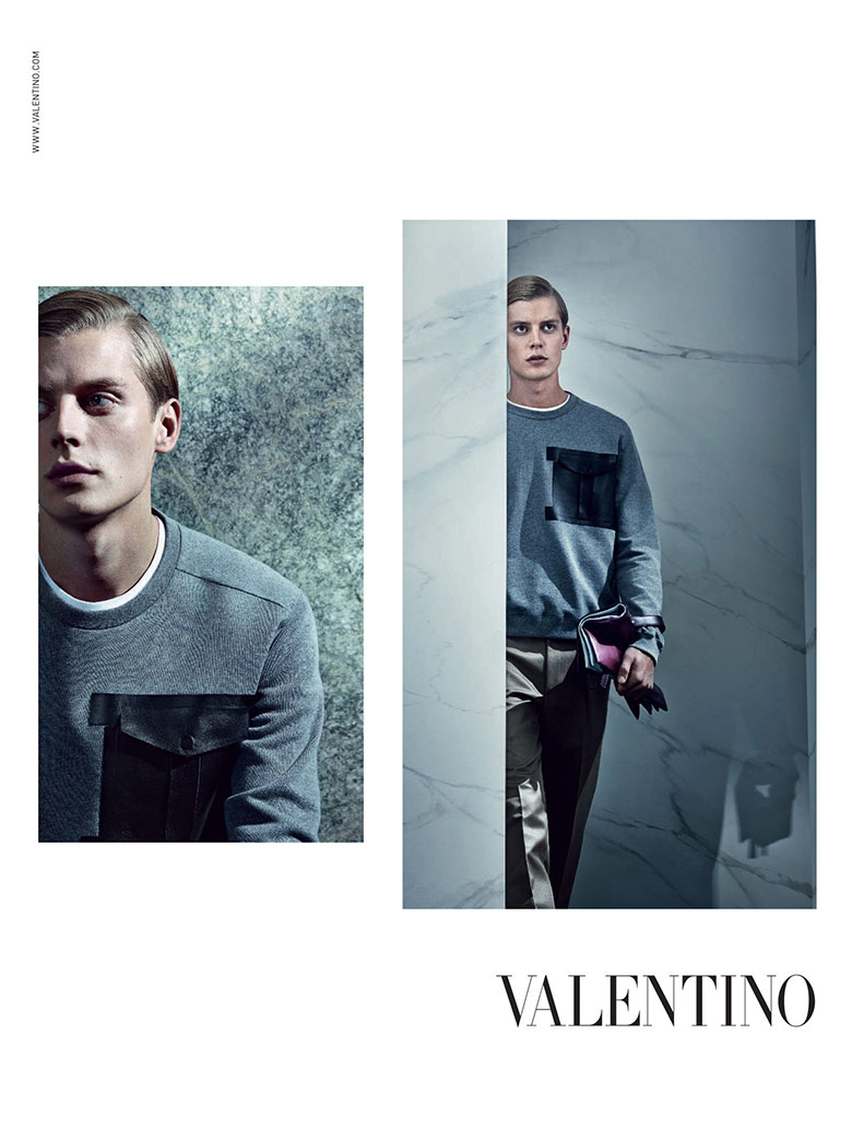 Photo Valentino Mens Spring/Summer 2014 Campaign by Craig McDean