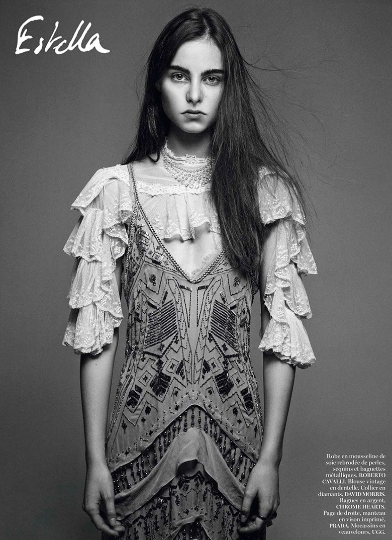 Photo New Faces by Mikael Jansson for Vogue Paris February 2014