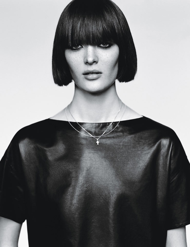 Photo Andreea Diaconu & Sam Rollinson by Alasdair McLellan for W Magazine March 2014