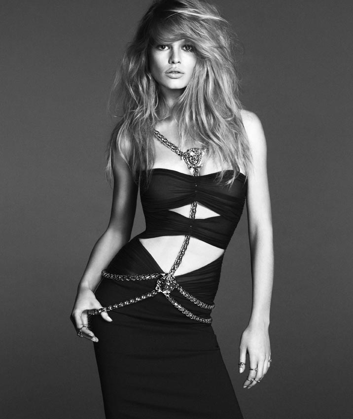 Photo Anna Ewers by Mert & Marcus for Versace Spring/Summer 2014