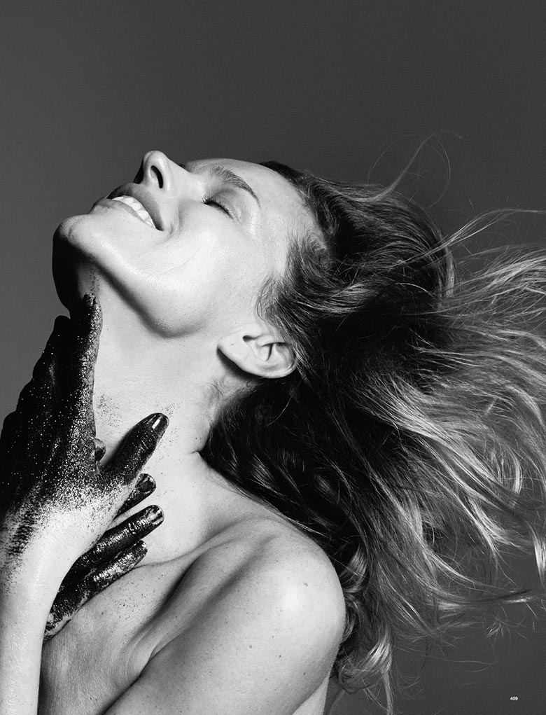 Photo Eva Herzigova by David Sims for LOVE Magazine Spring/Summer 2014