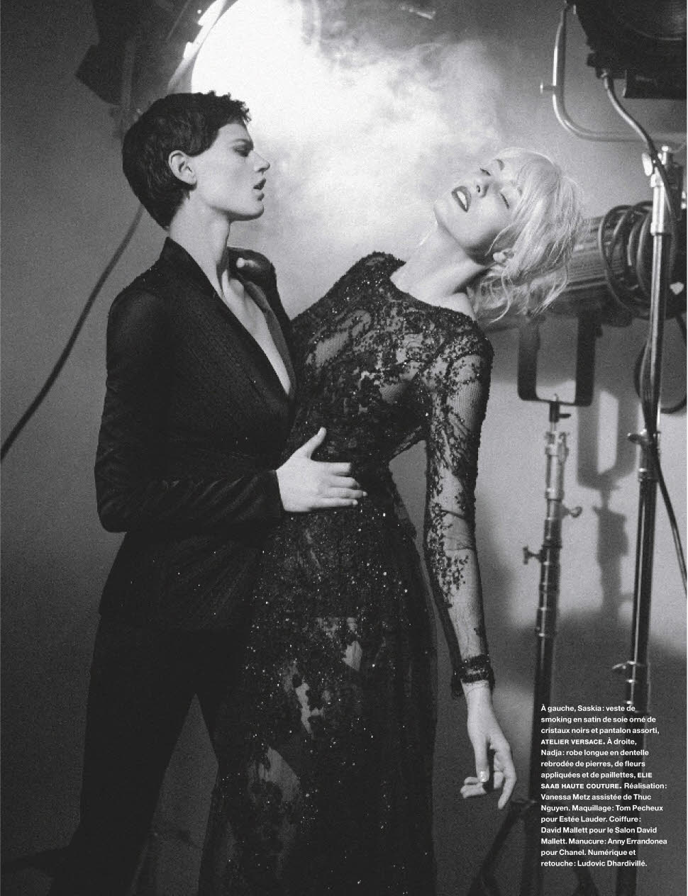 Photo Les diaboliques by Karl Lagerfeld for Numero March 2014