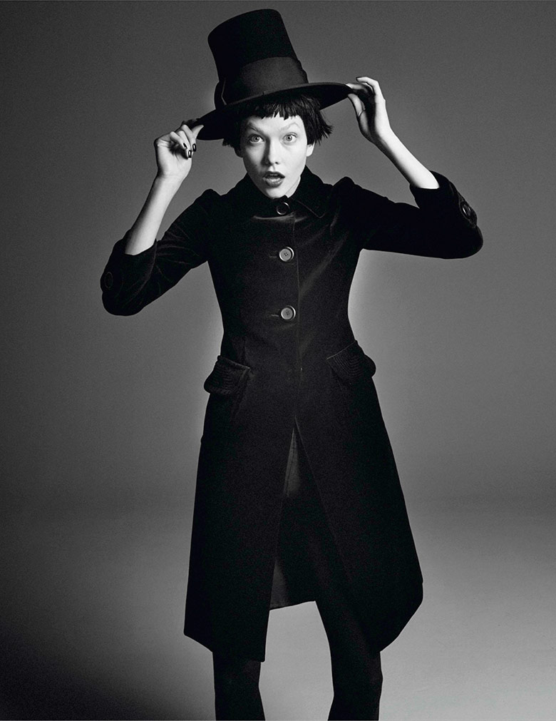 Photo Karlie Kloss by David Sims for Vogue Paris March 2014