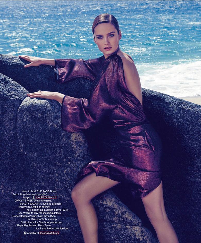 Photo Karmen Pedaru by Paola Kudacki for Harpers Bazaar March 2014