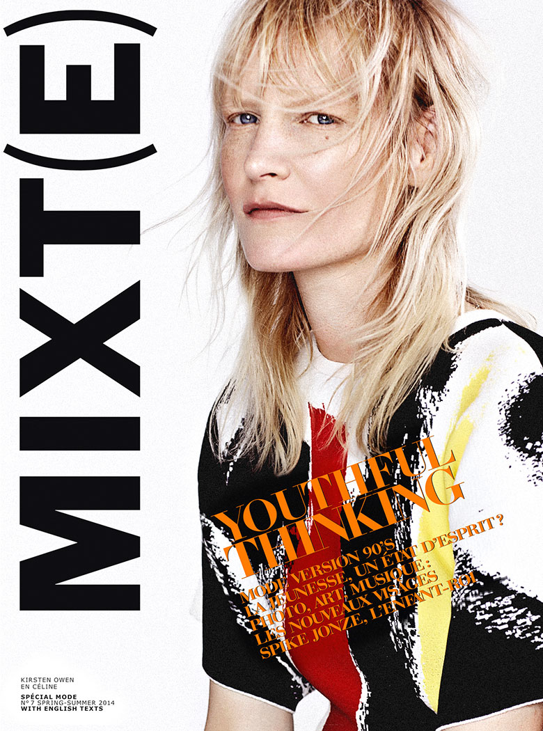 Photo Kirsten Owen by Emma Tempest for MIXT(E) Spring/Summer 2014