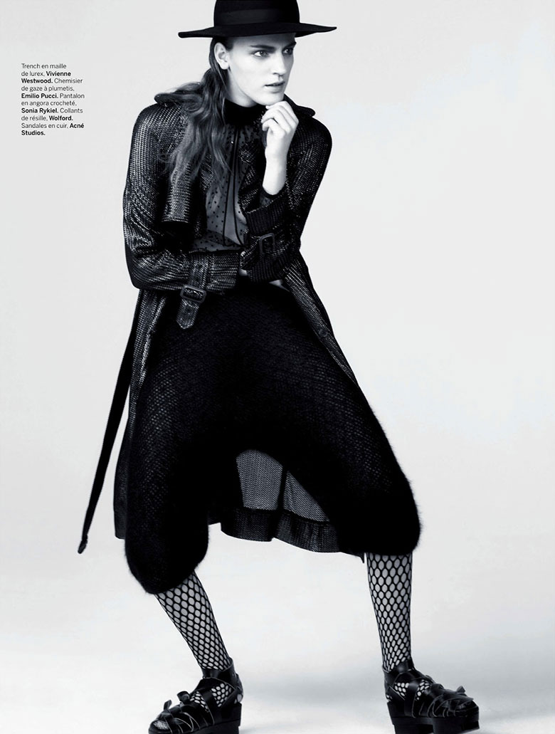 Photo Laura Kampman by Johan Sandberg for Stylist France Magazine February 2014