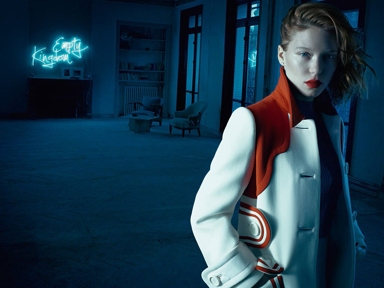 Photo Lea Seydoux by Michelangelo Di Battista for Vogue Italia February 2014