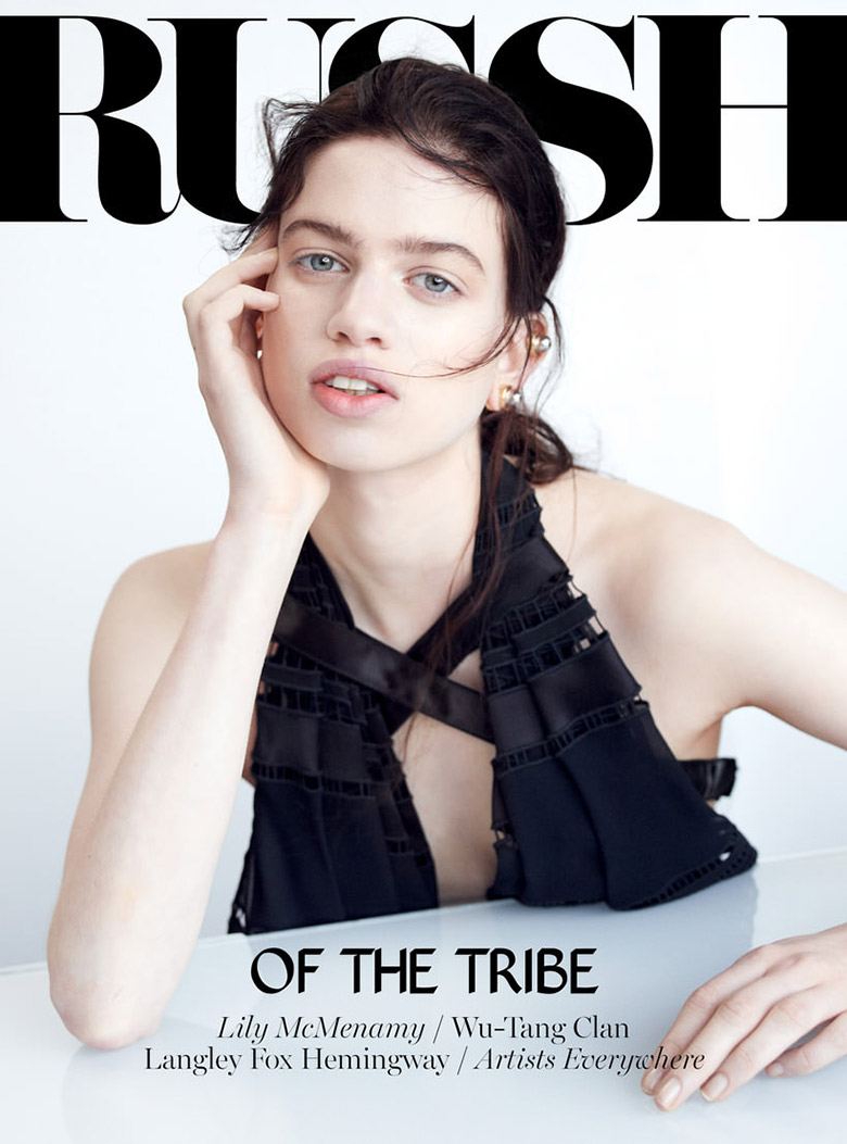 Photo Lily McMenamy by Alex Franco for RUSSH February March 2014