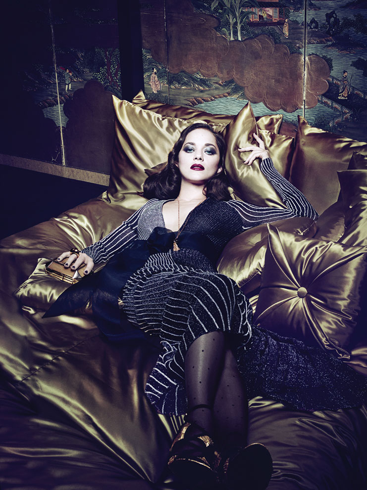 Photo Marion Cotillard for Interview March 2014