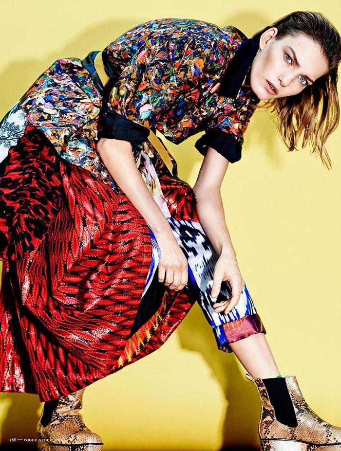 Photo Marique Schimmel for Vogue Netherlands March 2014