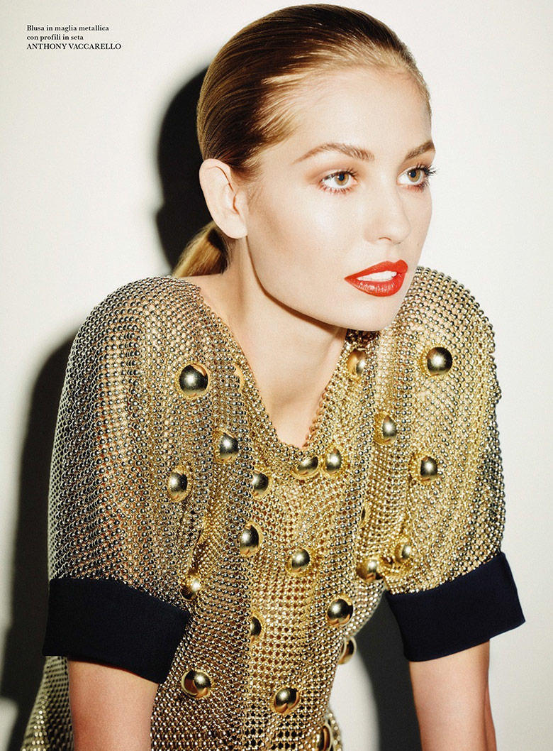 Photo Nadja Bender by Ezra Petronio for Flair March 2014