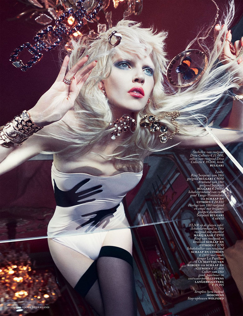 Photo Ola Rudnicka by Boe Marion for Vogue Netherlands March 2014