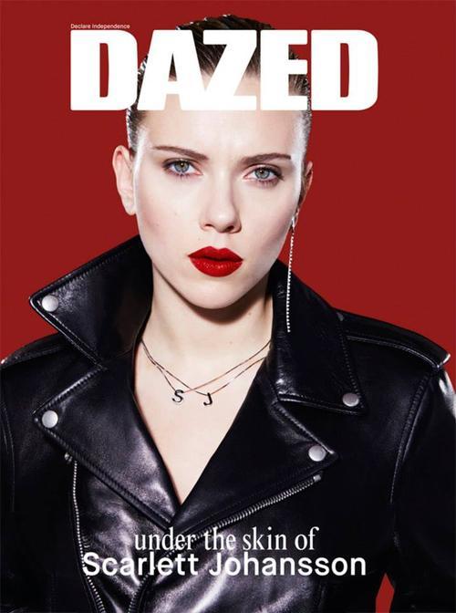Photo Scarlett Johansson by Benjamin Alexander Huseb for Dazed & Confused Spring 2014
