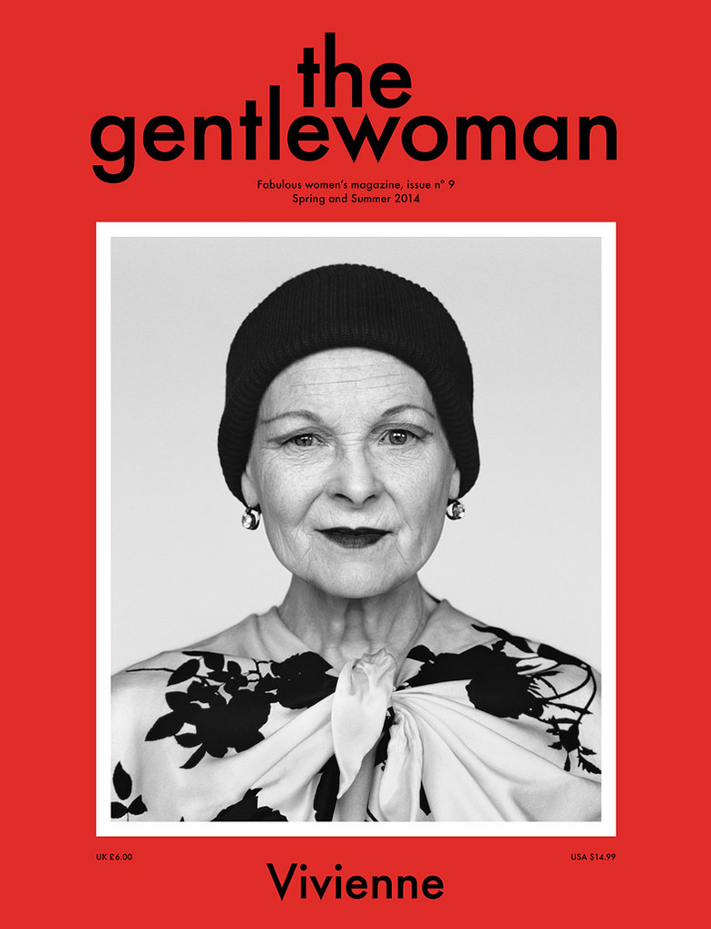Photo  Vivienne Westwood for The Gentlewoman Magazine S/S 2014