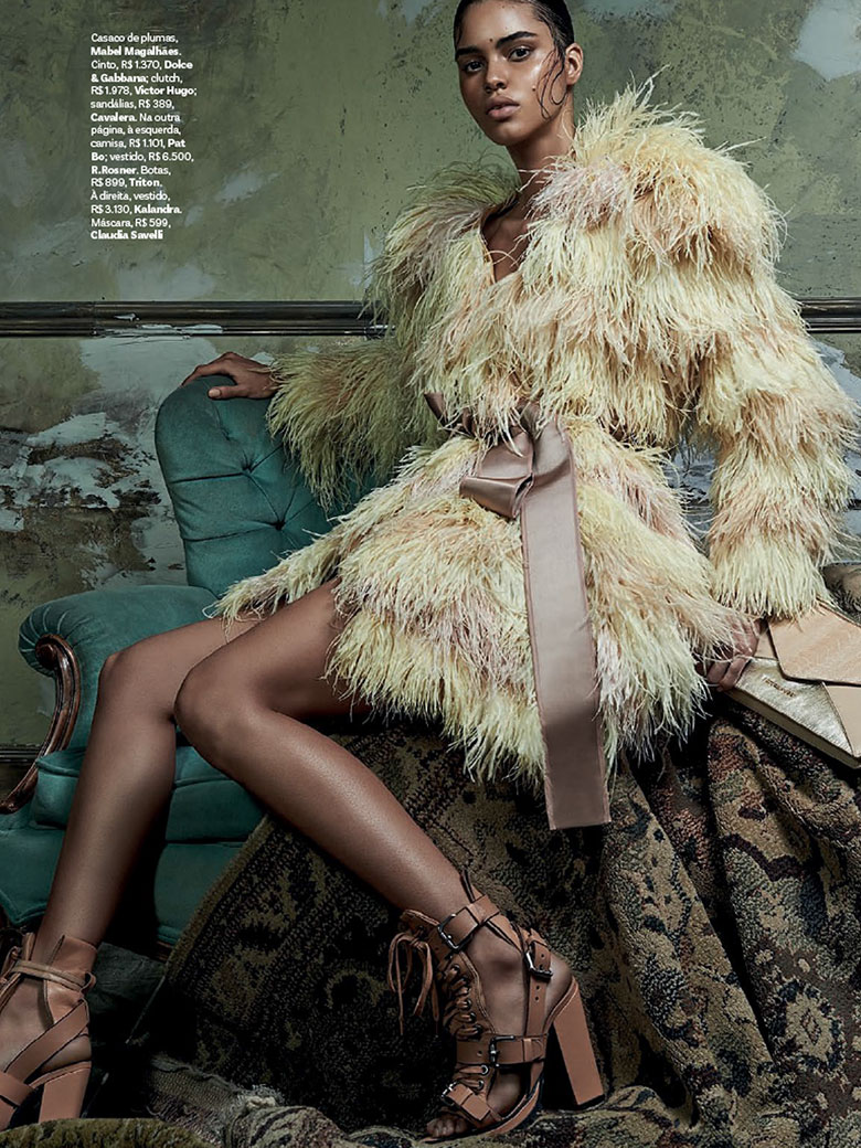 Photo Colombina Gotica by Zee Nunes for Vogue Brazil February 2014