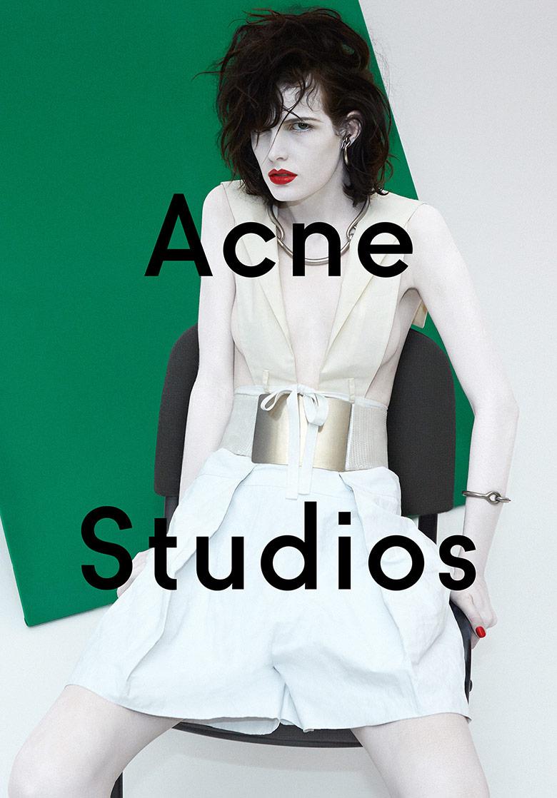 Photo Zlata Mangafic for Acne Studios S/S 2014 Campaign