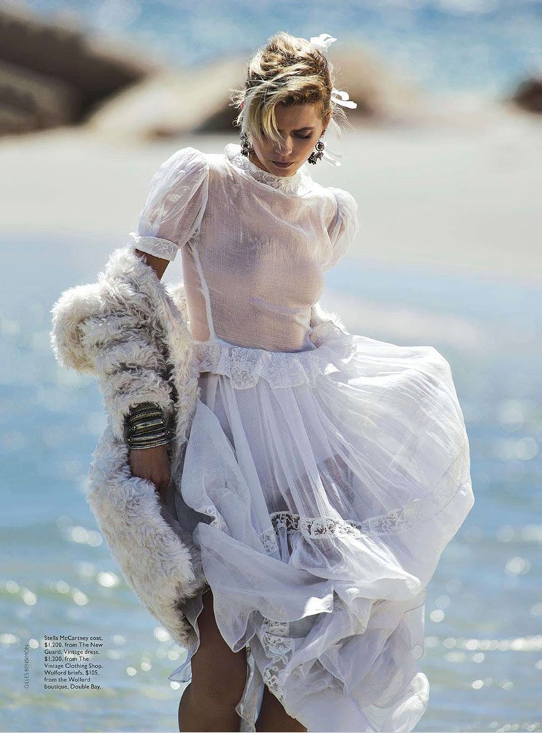 Photo Abbey Lee Kershaw by Gilles Bensimon for Vogue Australia April 2014