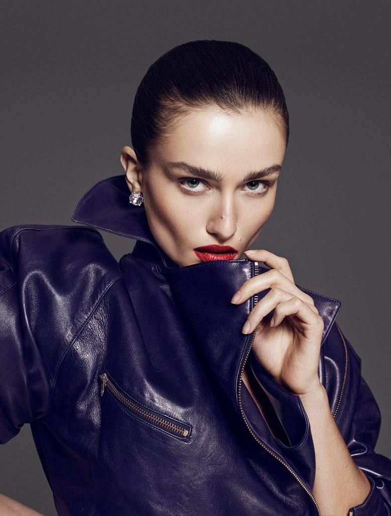Photo Andreea Diaconu for Vamp Magazine Spring/Summer 2014