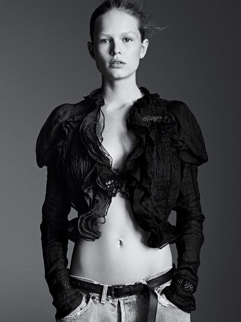 Photo Anna Ewers by Karim Sadli for T Style Magazine Spring 2014