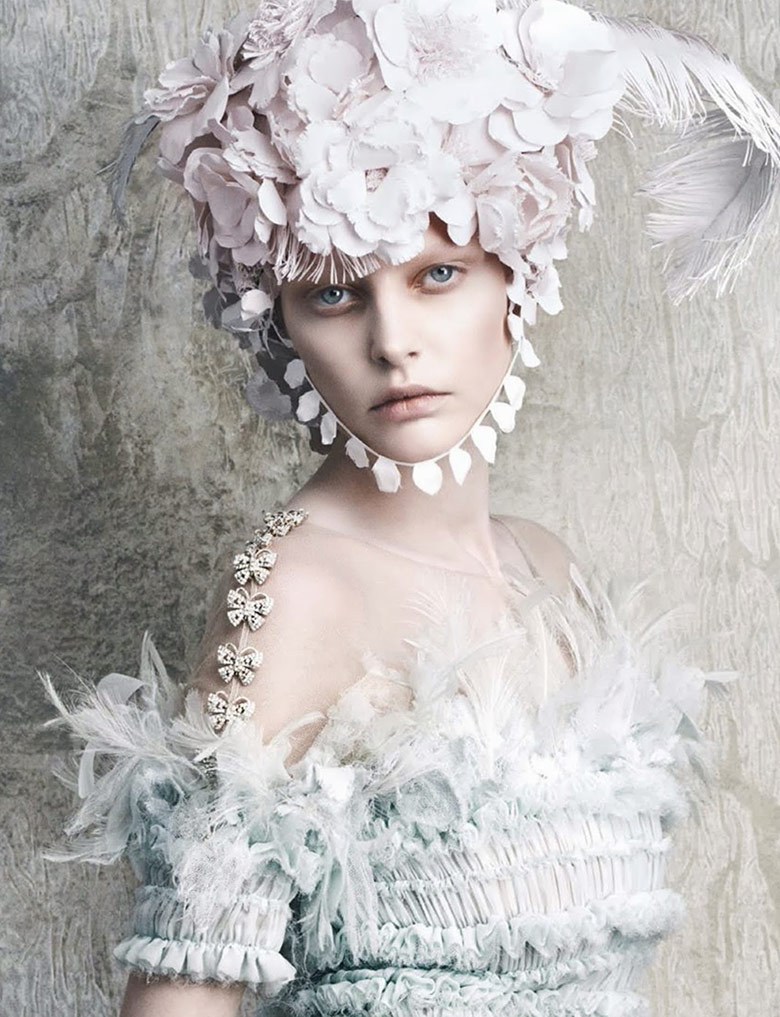 Photo Chanel Haute Couture by Daniele & Iango + Luigi for Vogue Germany April 2014