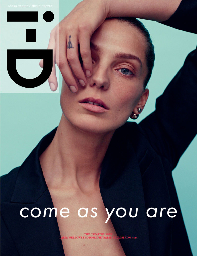 Photo Daria Werbowy by Karim Sadli for i D Spring 2014